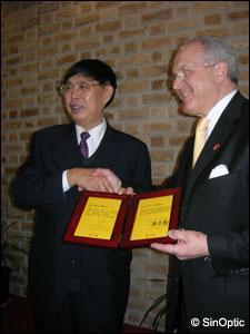 Präsident CHEN Haosu et Dr. Thomas WAGNER, Beijing, 7.3.2009